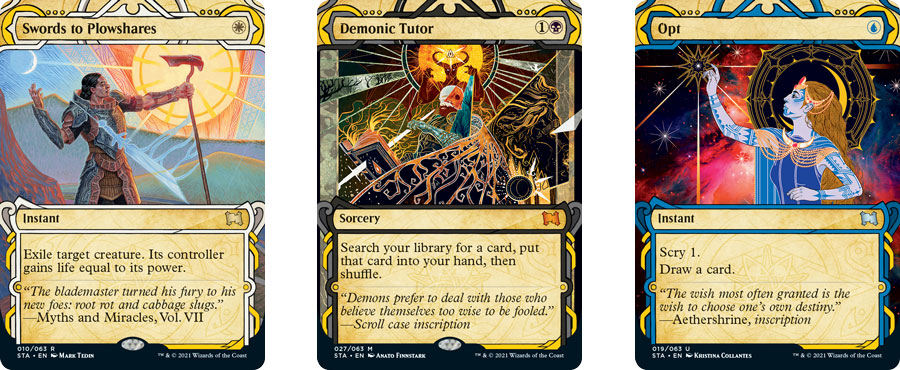 Mystical Archive cards