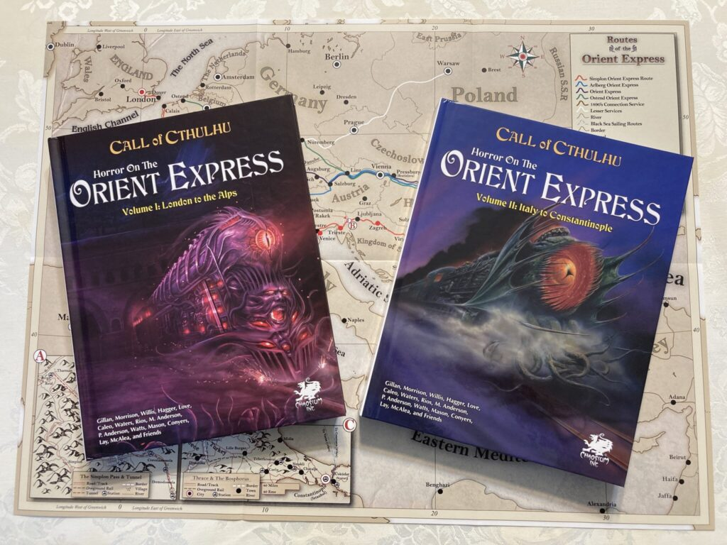 Horror on the Orient Express photo