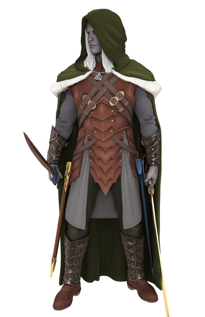 Drizzt front-facing