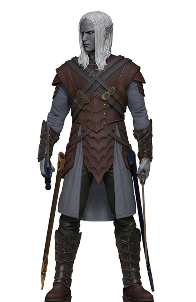 Drizzt without cloak