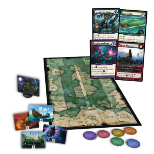 Ascension: Curse of the Golden Isles components