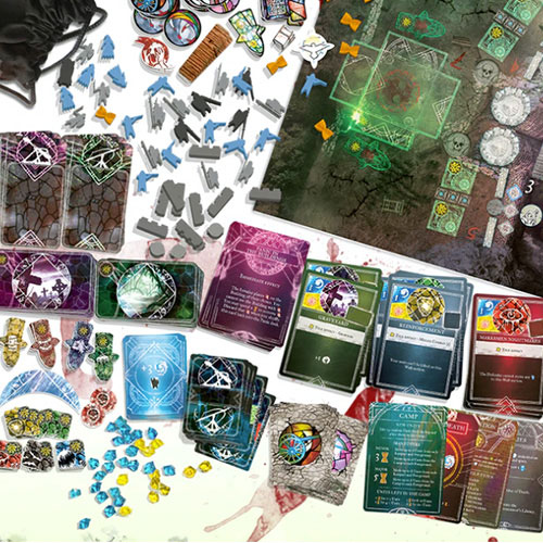Stronghold: Undead components