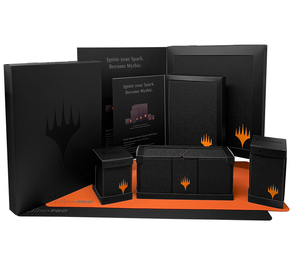 Mythic Edition accessories packaging