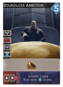 Boundless Ambition promo card