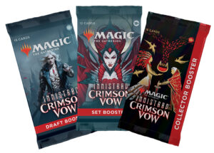 Magic: The Gathering Innistrad: Crimson Vow Boosters