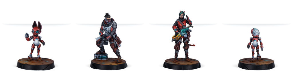 Nomads Support Pack minis