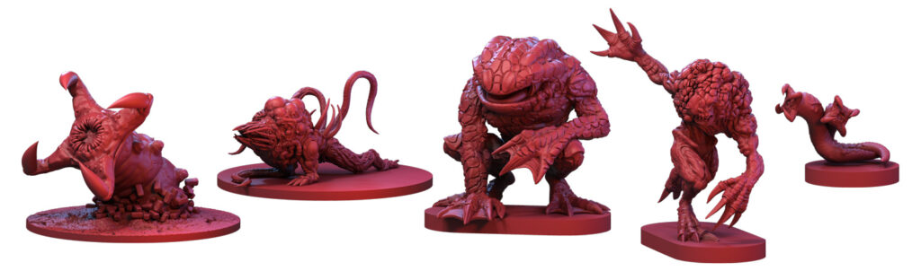 Resident Evil 3: The City of Ruin Expansion minis