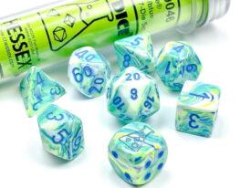 Festive® Polyhedral Garden/blue 7-Die Set