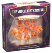 Witchlight Carnival dice set