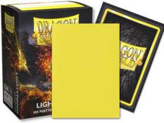 Dragon Shield Dual Matte yellow