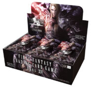 Final Fantasy TCG: Opus XIV Crystal Abyss Booster Display