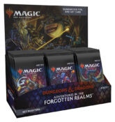 Magic: The Gathering Dungeons & Dragons Adventures in the Forgotten Realms Set Booster Box