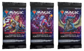 Magic: The Gathering Dungeons & Dragons Adventures in the Forgotten Realms Set Booster Packs