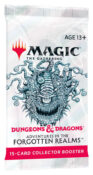 Magic: The Gathering Dungeons & Dragons Adventures in the Forgotten Realms Collector Booster Pack