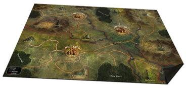Folklore cloth map