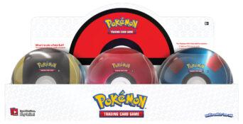 Poké Ball Tin Display
