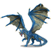 Adult Blue Dragon miniature