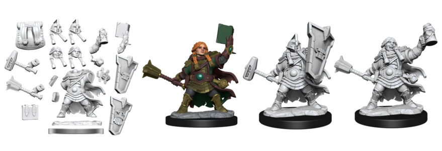 WZK75010 Dwarf Cleric Female
