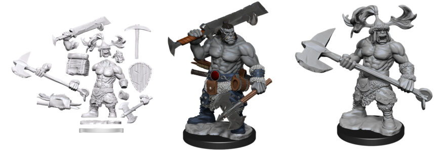 WZK75011 Orc Barbarian Male
