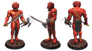 Efreeti Premium Statue