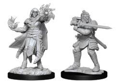 Hobgoblin Fighter Male & Hobgoblin Wizard Female (WZK90310)