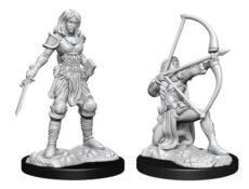 Pathfinder Deep Cuts: Human Fighter Female (WZK90326)